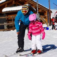 école de ski cours particulier enfant